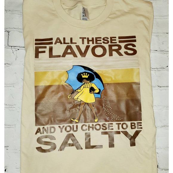 Salty tee